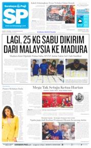 Cover Surabaya Pagi 10 Agustus 2019