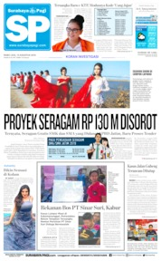 Surabaya Pagi Cover 14 August 2019