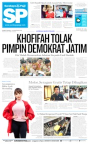 Cover Surabaya Pagi 15 Agustus 2019