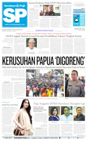 Cover Surabaya Pagi 20 Agustus 2019