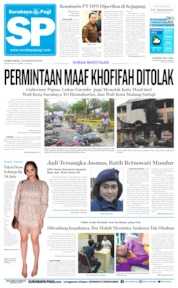 Cover Surabaya Pagi 22 Agustus 2019