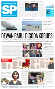 Cover Surabaya Pagi 24 Agustus 2019