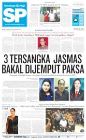 Cover Surabaya Pagi 28 Agustus 2019