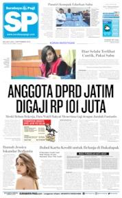 Cover Surabaya Pagi 03 September 2019