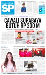 Cover Surabaya Pagi 10 September 2019