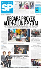 Cover Surabaya Pagi 11 September 2019