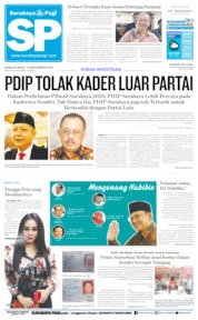 Cover Surabaya Pagi 12 September 2019