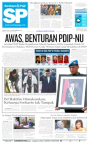 Cover Surabaya Pagi 13 September 2019