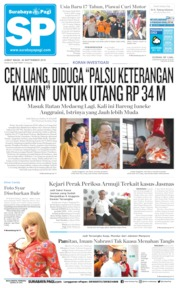 Cover Surabaya Pagi 20 September 2019
