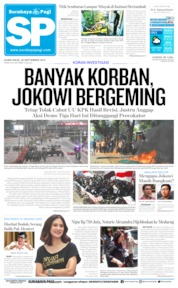 Surabaya Pagi Cover 26 September 2019