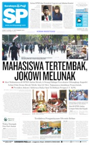 Surabaya Pagi Cover 27 September 2019