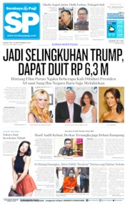 Surabaya Pagi Cover 30 September 2019
