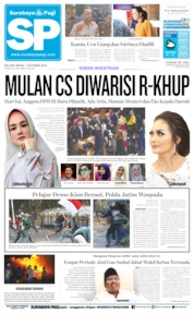 Surabaya Pagi Cover 01 October 2019