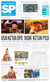Surabaya Pagi Cover 03 October 2019