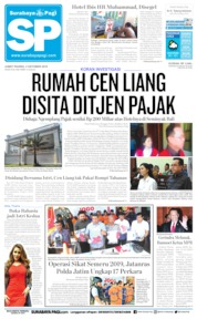 Surabaya Pagi Cover 04 October 2019