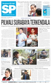 Surabaya Pagi Cover 07 October 2019