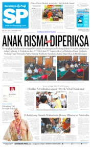 Surabaya Pagi Cover 08 October 2019