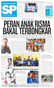 Surabaya Pagi Cover 09 October 2019