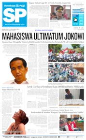 Surabaya Pagi Cover 10 October 2019