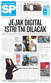 Surabaya Pagi Cover 14 October 2019