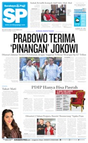Surabaya Pagi Cover 22 October 2019