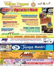 Cover Majalah Yellow Pages - Yogyakarta