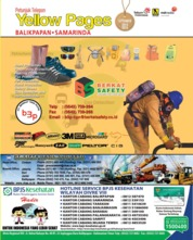 Cover Majalah Yellow Pages - Balikpapan