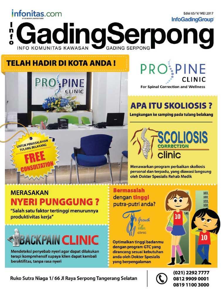 Majalah Digital Info GadingSerpong Mei 2017