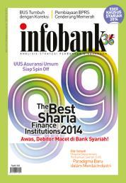 Cover Majalah infobank ED Khusus SYARIAH 2014