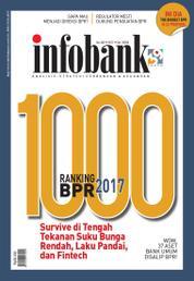 Cover Majalah infobank ED Khusus Rangking BPR 2017
