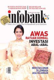 Cover Majalah infobank ED Khusus Investasi Ilegal