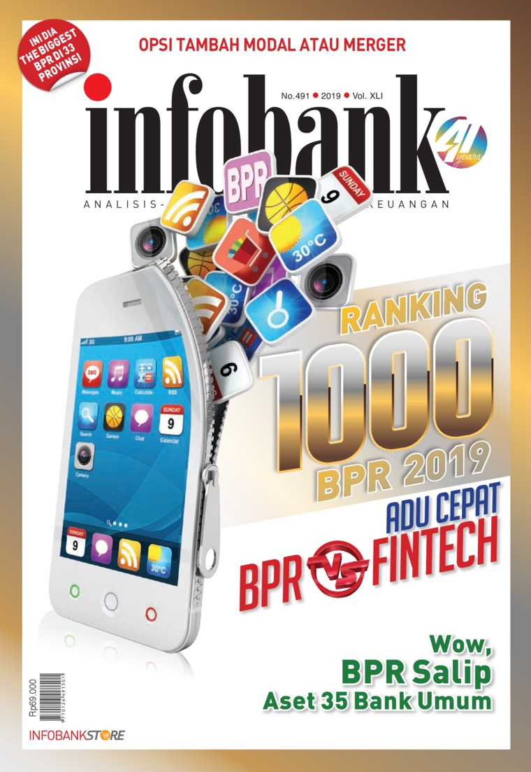 Infobank ED Khusus Digital Magazine Peringkat Aset 1.000 BPR
