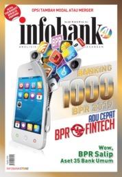 Infobank ED Khusus Magazine Cover Peringkat Aset 1.000 BPR