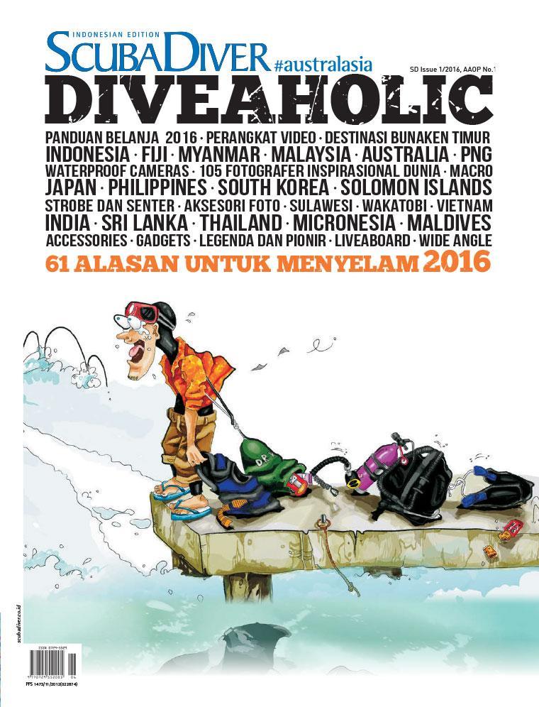 Majalah Digital SCUBA DIVER Indonesia ED 01 Maret 2016