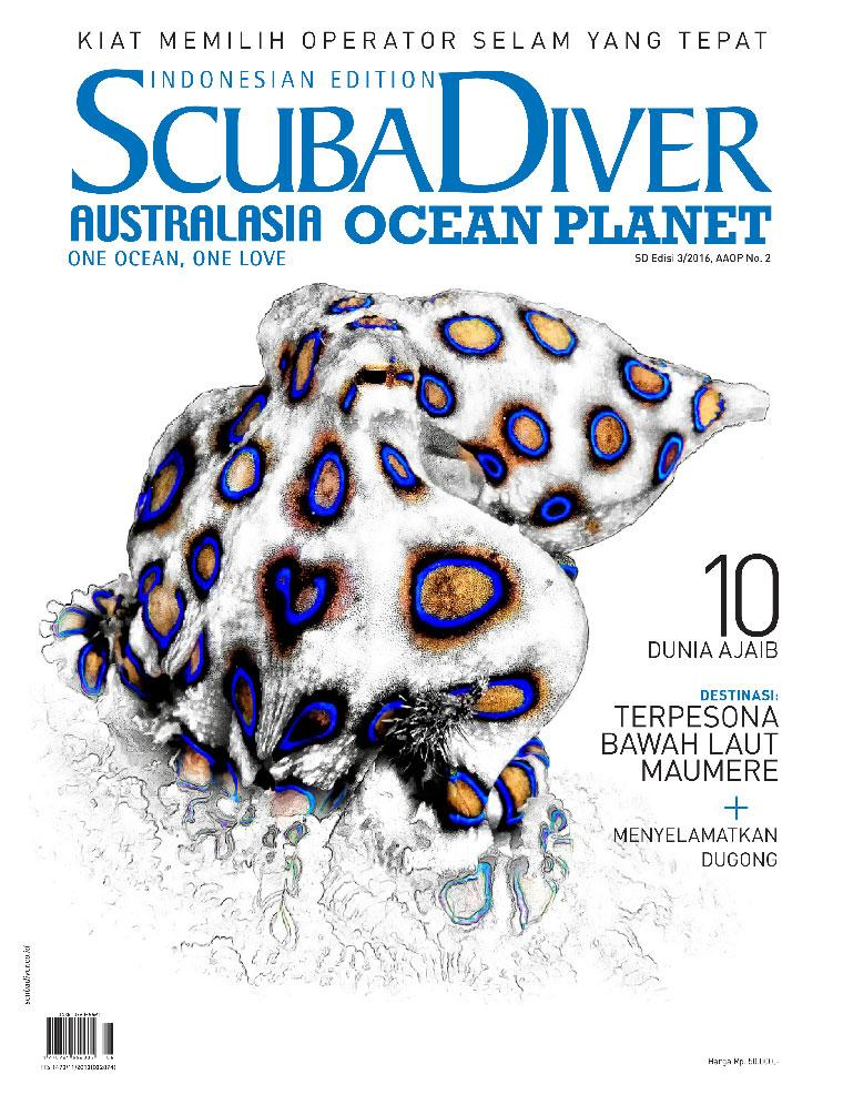 Majalah Digital SCUBA DIVER Indonesia ED 03 Oktober 2016