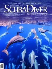 SCUBA DIVER Indonesia Magazine Cover ED 02 August 2018