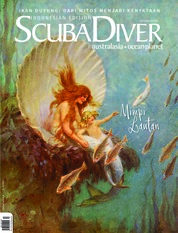 Cover Majalah SCUBA DIVER Indonesia ED 03 November 2018
