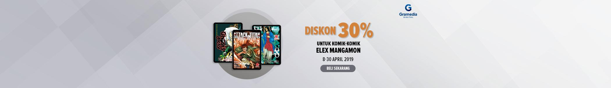 Diskon internal publisher - Elex Mangamon