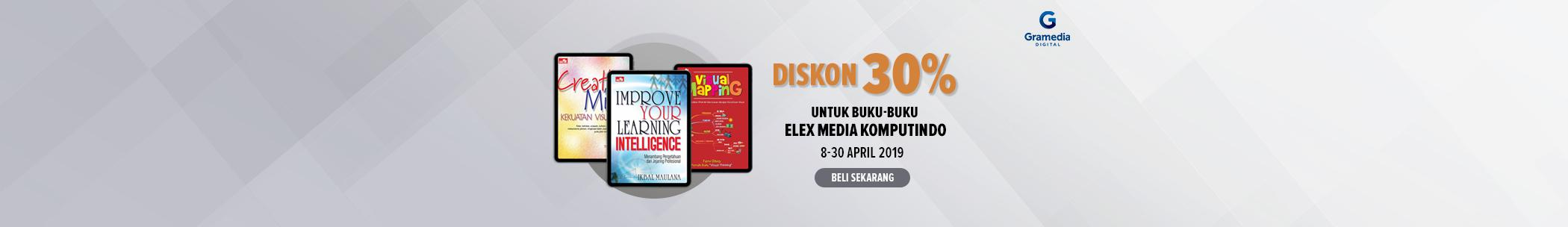 Diskon internal publisher - Elex Media Computindo
