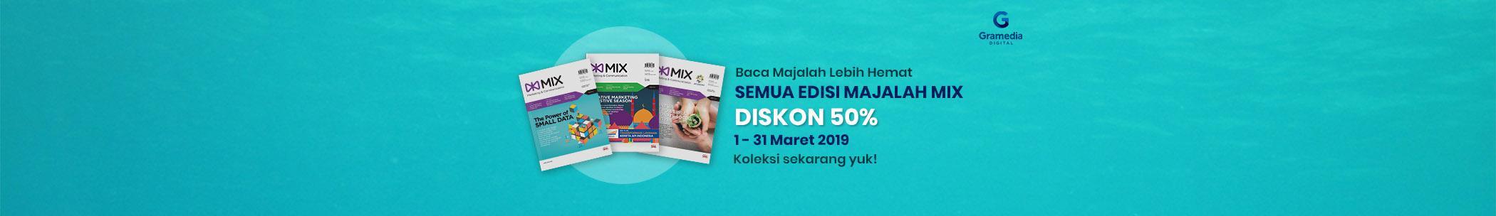 Mix Magazine 6 Months Promo 50% - Mar