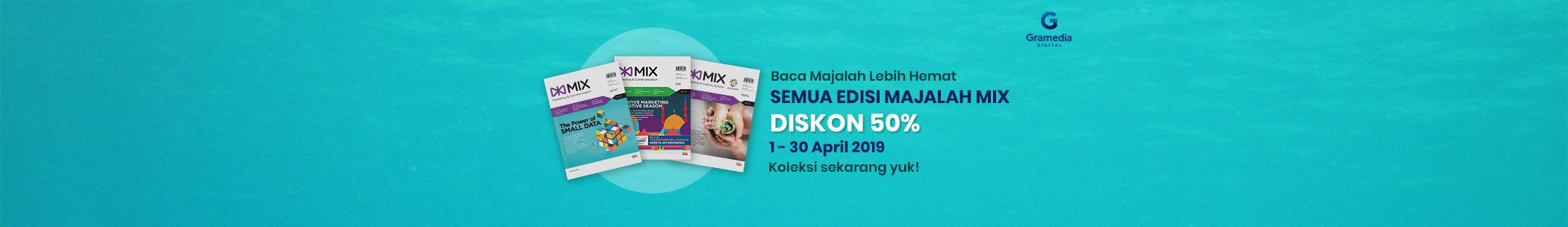 Mix Magazine 6 Months Promo 50% - Apr