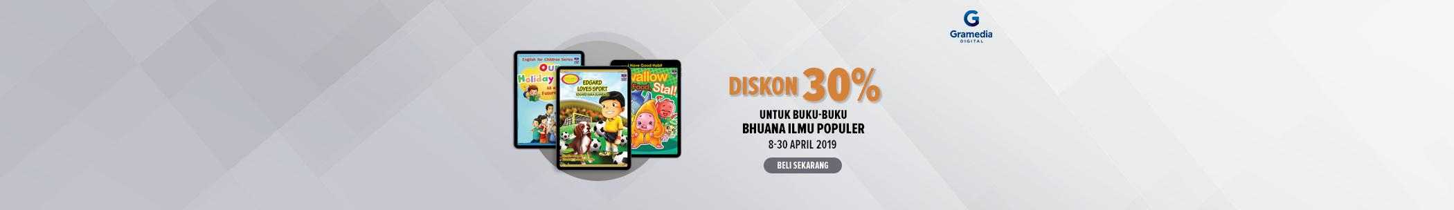 Diskon internal publisher - Bhuana ilmu populer
