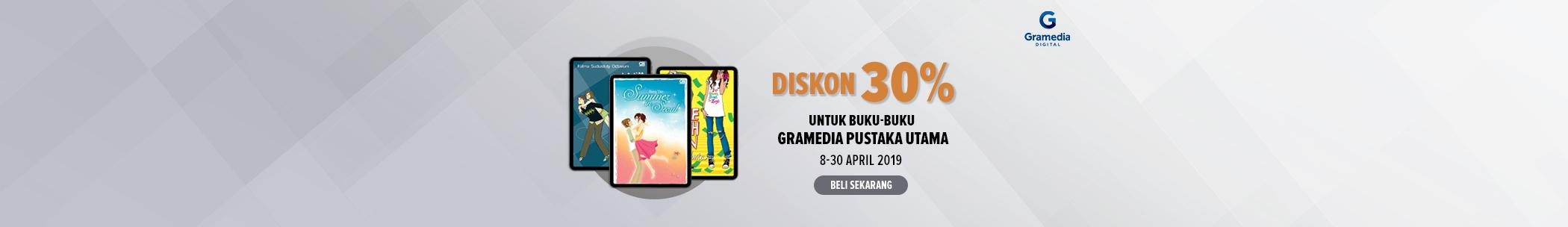 Diskon internal publisher - Gramedia Pustaka Utama