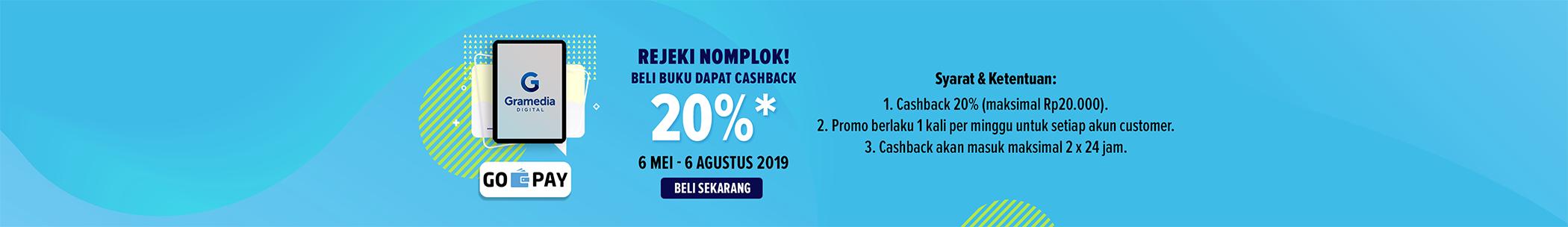 GoPay Cashback 20%