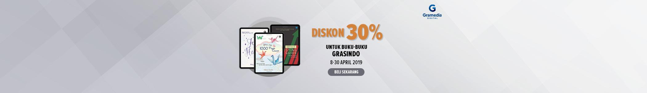 Diskon internal publisher - Grasindo